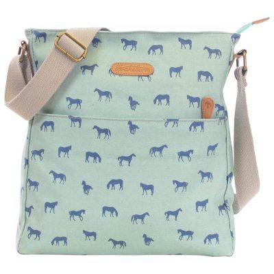 Brakeburn crossbody horse bag