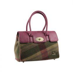 HoT handbag burgundy green3jpg - Copy