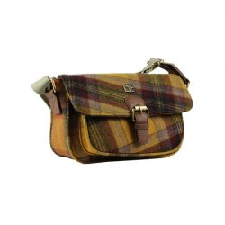 House of Tweed small satchel yellowjpg