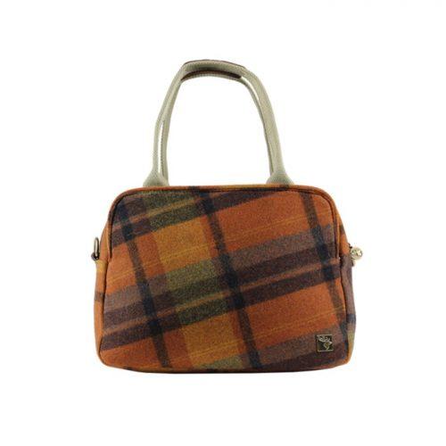 House of tweed orange tote bag3jpg